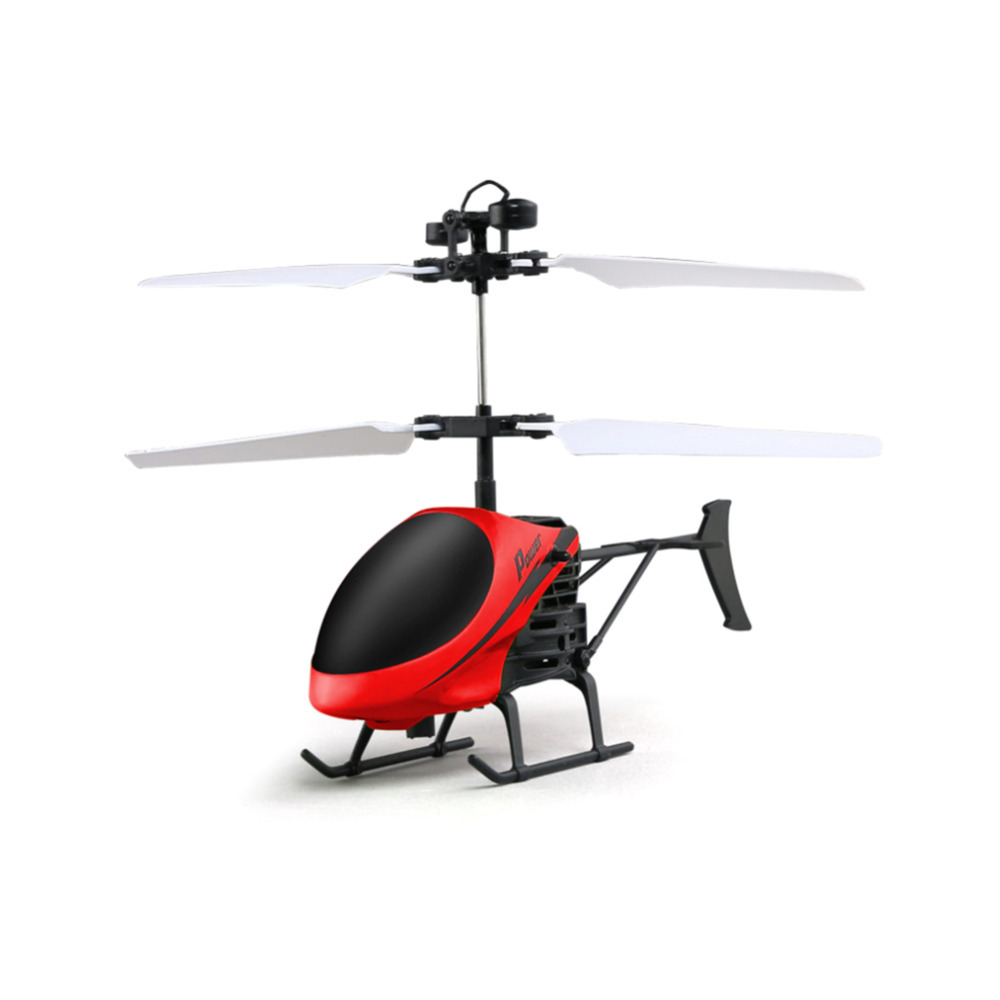 D715 Mini Helicopter Induction Aircraft Remote Control RC Drone with Flash Light FJ88