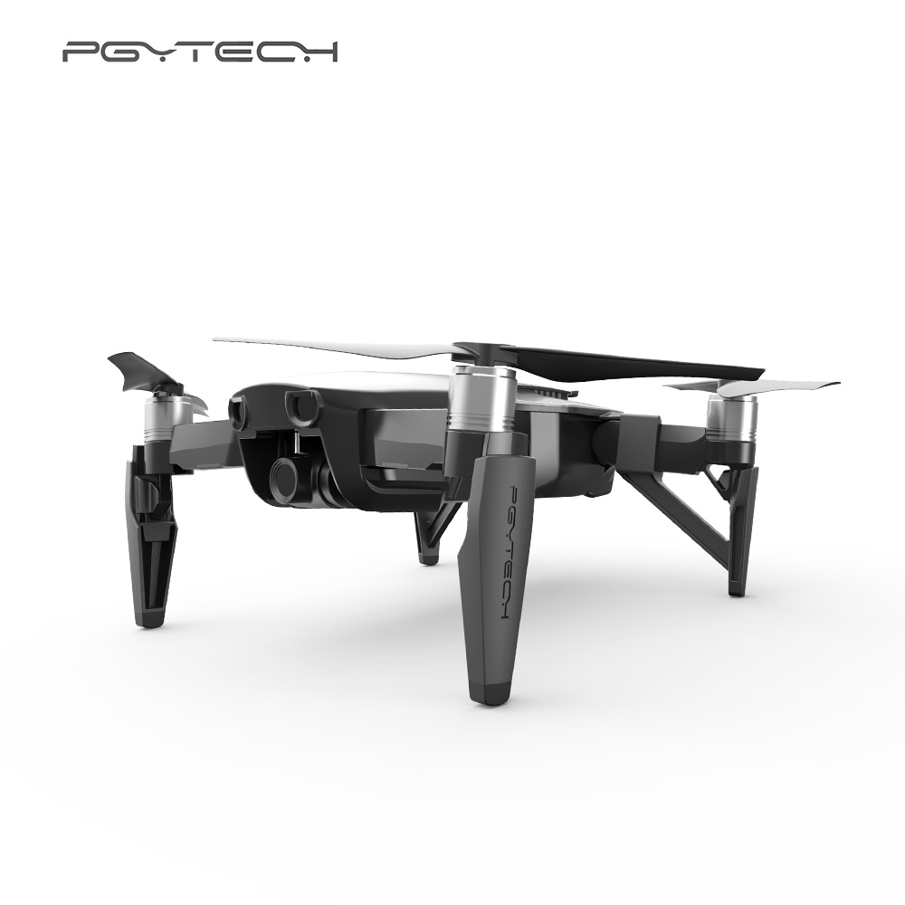 PGYTECH Drone Protecive Accessories for DJI Mavic Air Landing Gear Risers Skid Heightened Shock-absorbing Stabilizers Legs upair chase up air landing skid
