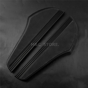 Image 5 - Front Driver Foot Pegs Floorboard For Harley Touring Road King Tri Street Glide FLHR FLHX 2000 2019 Softail Heritage Fat boy