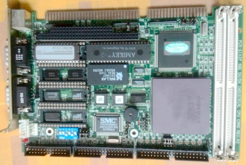 все цены на  PCA-6143P SX DX REV B1 32MB RAM memory ISA half long industrial motherboard  онлайн