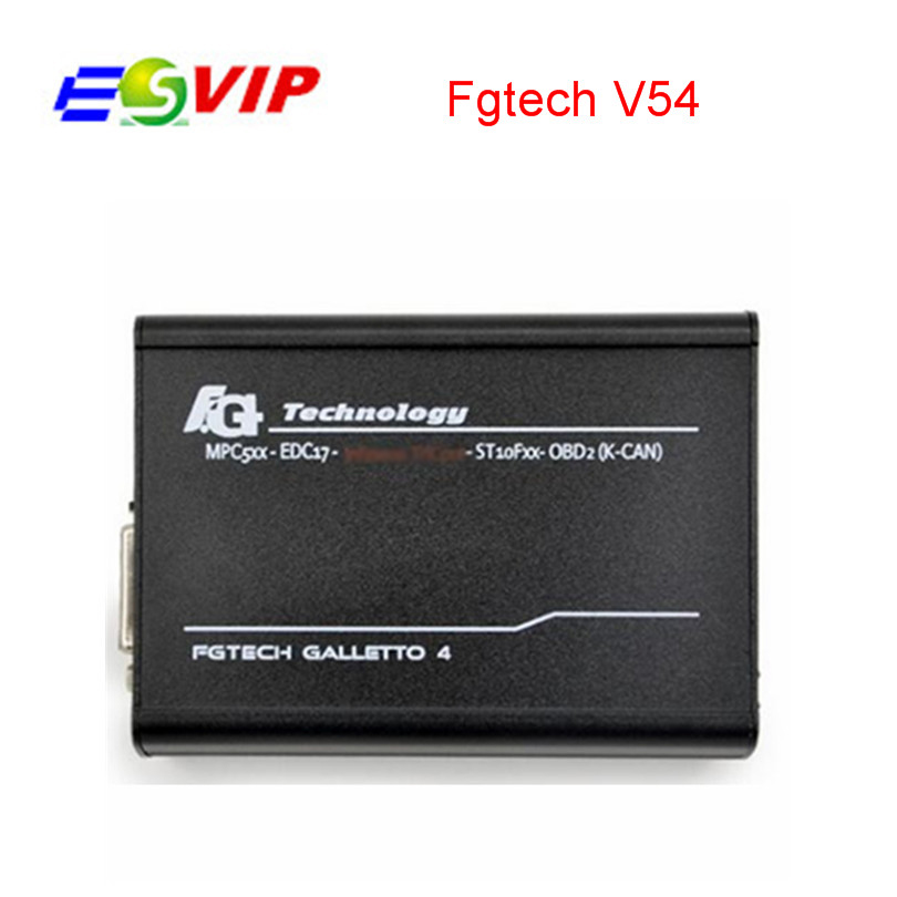 New Release V54 FG Tech Galletto 4 Master BDM OBD Function ECU Programmer With High