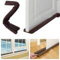 10Pcs Twin Door Draft Dodger Guard Stopper Windows Saving Protector Dustproof Doorstop Decor High Quality