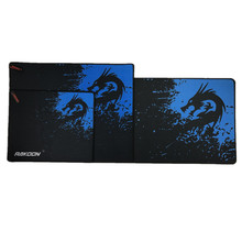 Blue Dragon Large Gaming Mouse Pad Lockedge Mouse Mat For Laptop Computer Keyboard Pad Desk Pad For Dota 2 Warcraft Mousepad(China)
