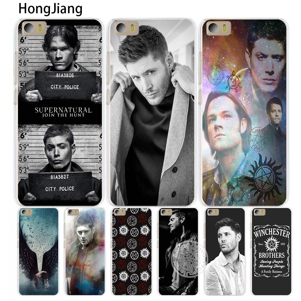 HongJiang <font><b>Supernatural</b></font> SPN Jensen Ackles Cover <font><b>phone</b></font> <font><b>Case</b></font> for Xiaomi M Mi 3 4 5 5S 5C 5X 6 Mi3 Mi4 4S 4I 4C Mi5 NOTE MAX