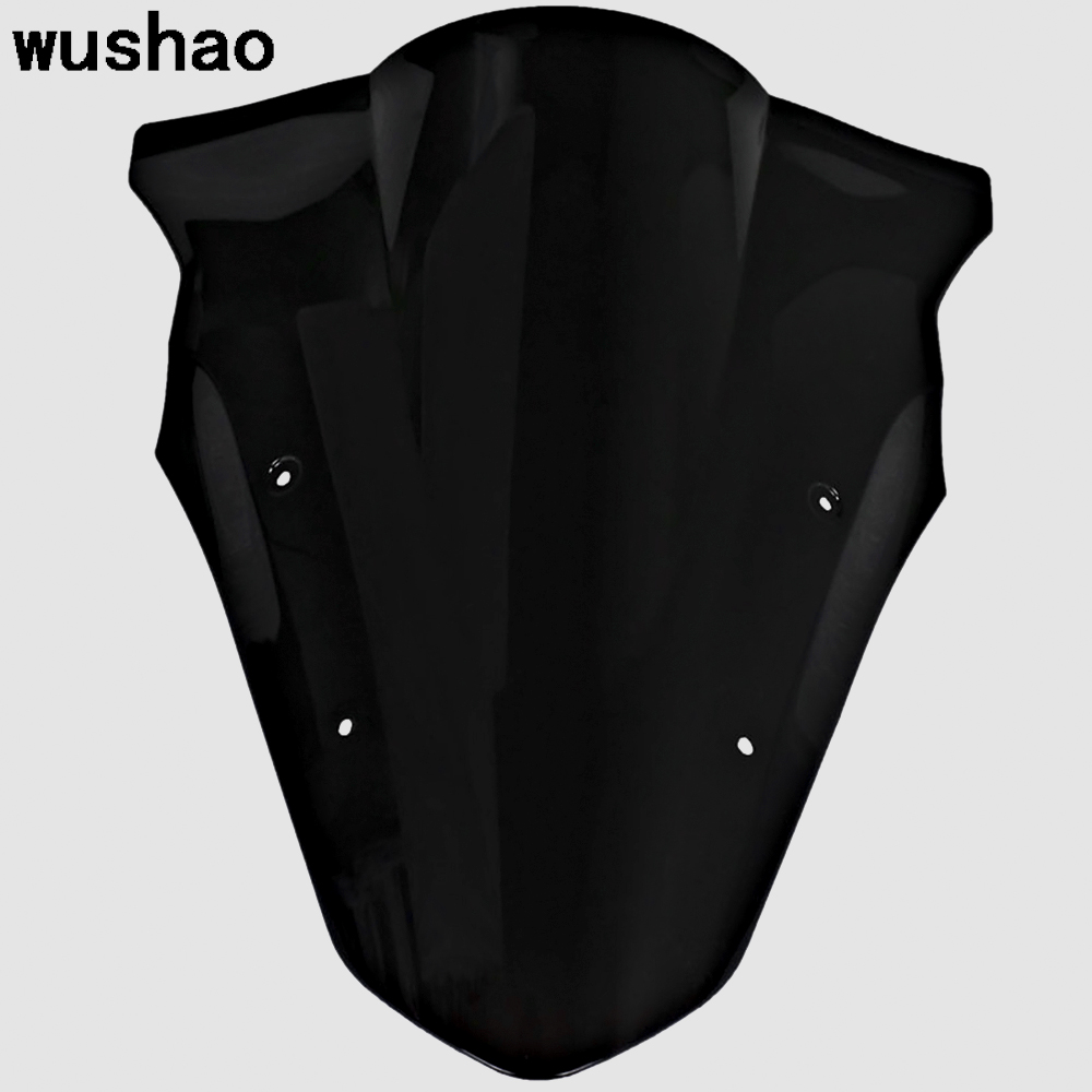 Wushao Motorcycle Windscreen For Kawasaki Ninja 650 Er6f 2012 2016 Wiring Harness Routing Double Bubble Windshield Ex650r Er 6f Ex 650r