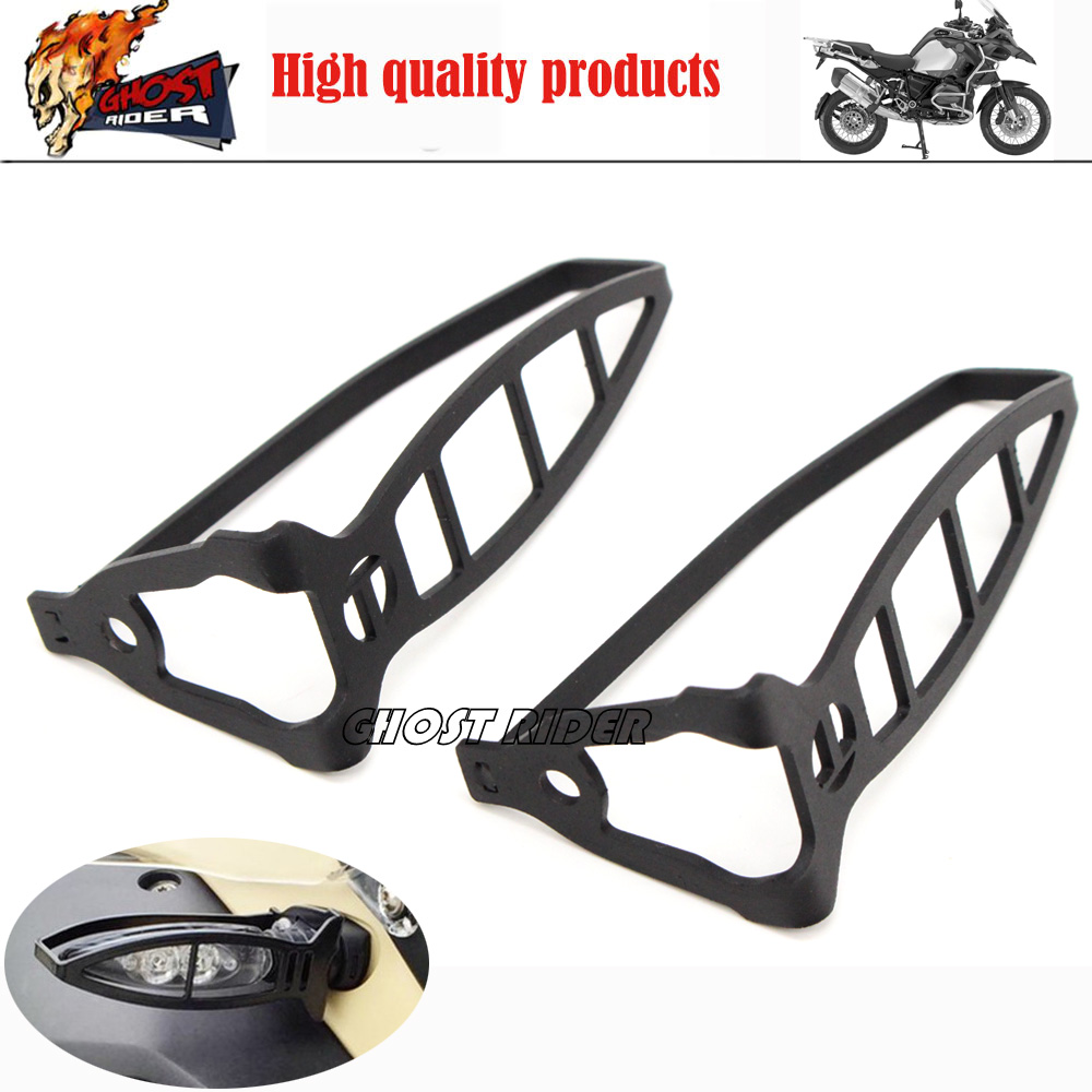 ФОТО 1pair-Motorcycle orange / white turn signal lights for BMw R1200gs F800/ADV LED Protection frame lights Left/Right