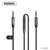 Remax MIC AUX Cabo de 3.5mm Jack para Jack Chamada/Switch canção/ctia de volume de áudio cabo para iphone alto-falantes do pc laptop telefone áudio
