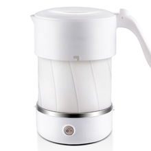 Foldable Electric Water Kettle Food Silicone Travel Kettle Portable Mini Water Boiler Home Electrical Appliances