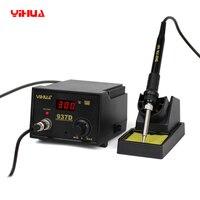 220V US EU Plug Solder Station With LED Digital Yihua 937D Soldering Station Electric Iron