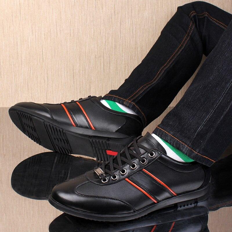 Hombre Vestir Mocassins Superior Respirável 38 Alta Lazer Handmde Lace De Preto Couro Macio Tamanho cinza Casuais Homens Up Plano Sapatos Genuíno Calçados 45 awOx8PZq
