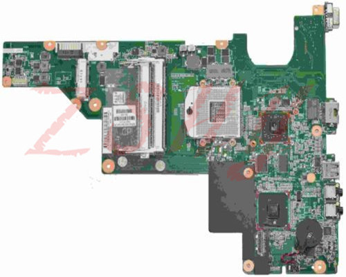 Купить с кэшбэком for hp cq43 laptop motherboard hm55 646176-001 ddr3 Free Shipping 100% test ok