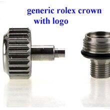 1 шт. большая трубка винт на короне Rlx совместимый диам. 5,3-7,0 мм для часов Rlx