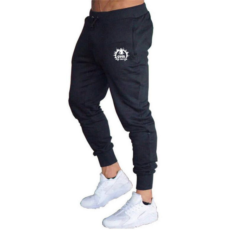 Mens Pants Street-Trousers Clothing Jogger Gyms Fitness Winter Casual for Hip-Hop