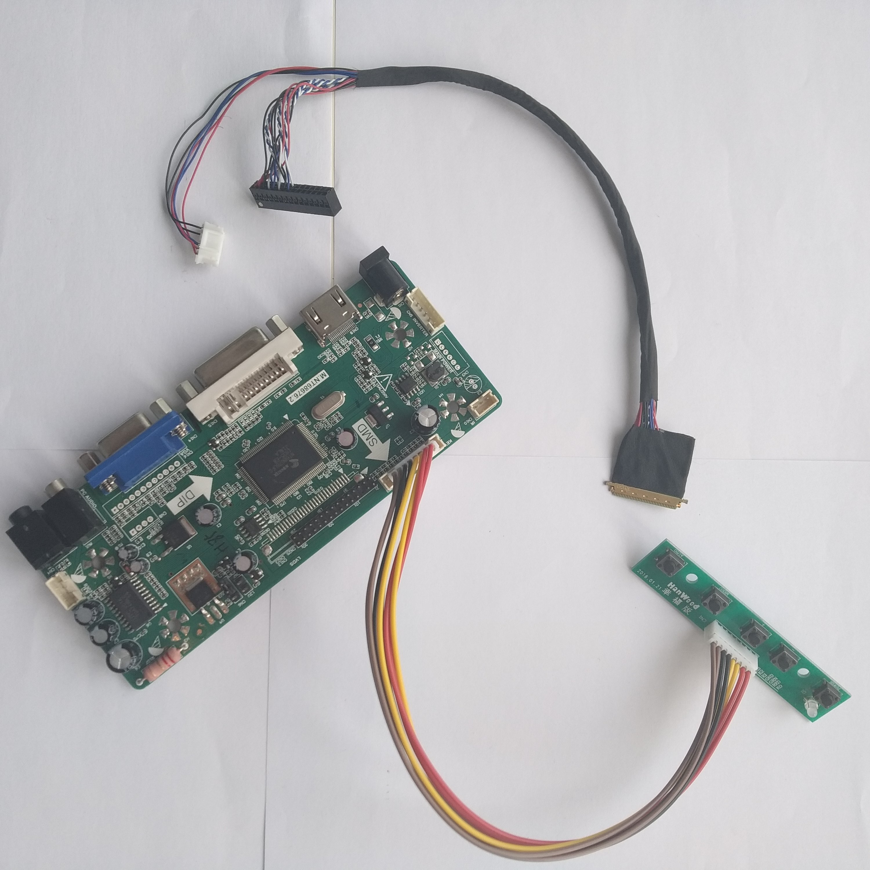 TV+HDMI+VGA+USB LCD LED screen Controller Driver Board TL Kit for LP171WP4 B1