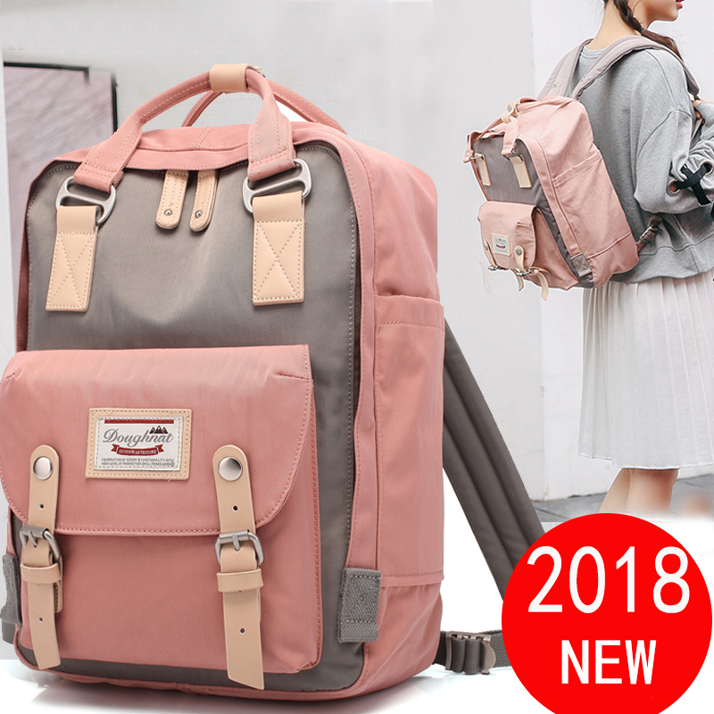 KEMY Original Doughnut backpacks for girl Waterproof Kanken Backpack Travel Bag Women Large Capacity brand Bags For Girls