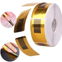 50/100 шт кончики для маникюра, форма для акрилового УФ-геля, наклейки для наращивания ногтей, инструменты для дизайна своими руками