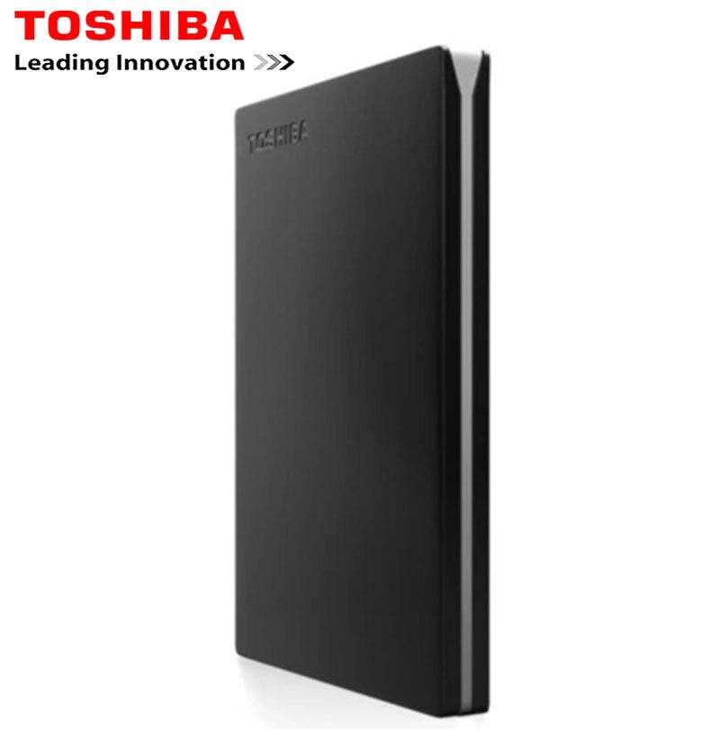 Disque Dur externe Toshiba HDD 1 to 2 to 2.5 Disco Duro HD Externo 1 to Disque Dur pour ordinateur portable USB 3.0 stockage de Disque Dur