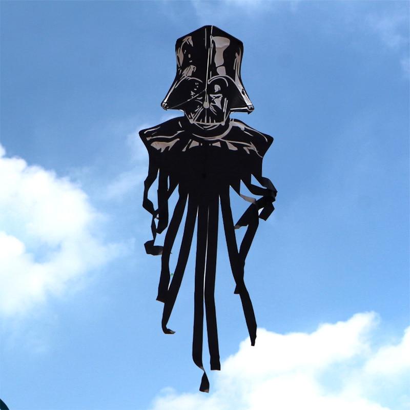 Высокое качество рыцарский воздушный змей с ручкой линии Рипстоп нейлон ткань Открытый летающие игрушки Вэйфан воздушный змей завод