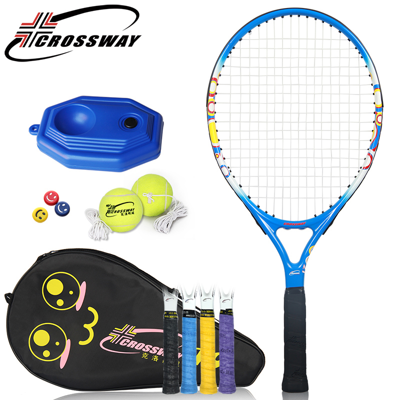 CROSSWAY 1pc Tennis Rackets hotsale Tennis Racquet Raquette Fitness Training Racket Kids Youth Childrens outdoor sports 021