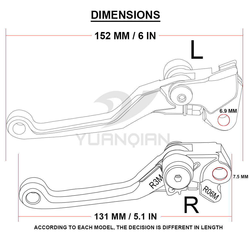 hight resolution of moto dirt bike brake clutch levers for ktm exc 125 200 six days 125 wiring diagram