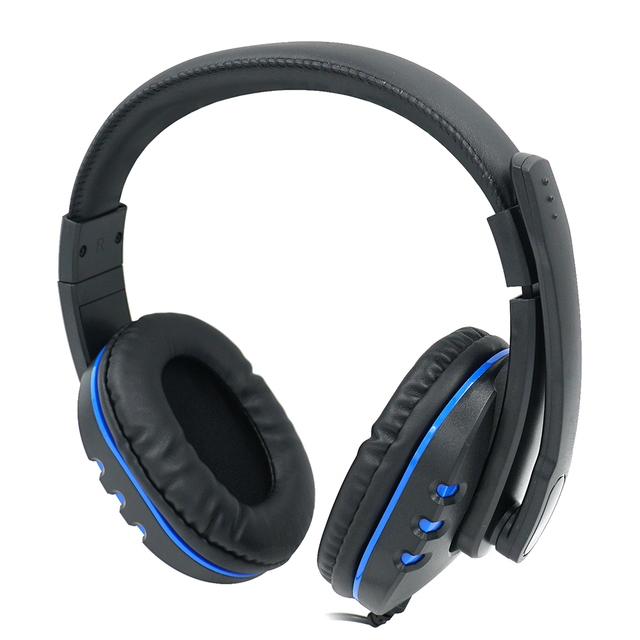 Auriculares estéreo con cable USB DOBE con micrófono para PS4/PS4 Pro/PS4 Slim para Xbox One/Xbox uno S/Xbox One X para Nintend interruptor