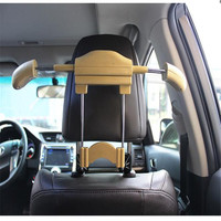 Car Seat Hanger Holder Organizer Coat Hanger Clothes Suits Holder New Car Styling Car Accessories Universal