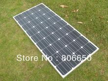2 pcs 150 W 12 V mono panneau solaire, RV bateau maison de voiture système soalr, livraison gratuite *