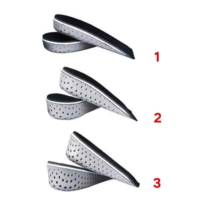 EVA Unisex Sneaker Çizme Ve Eğitmen ayakkabı pedi Bellek Köpük Asansör Taban Topuk Yüksekliği Artış Yastık Taller Yükseklik 2.3 cm- 4.3 cm