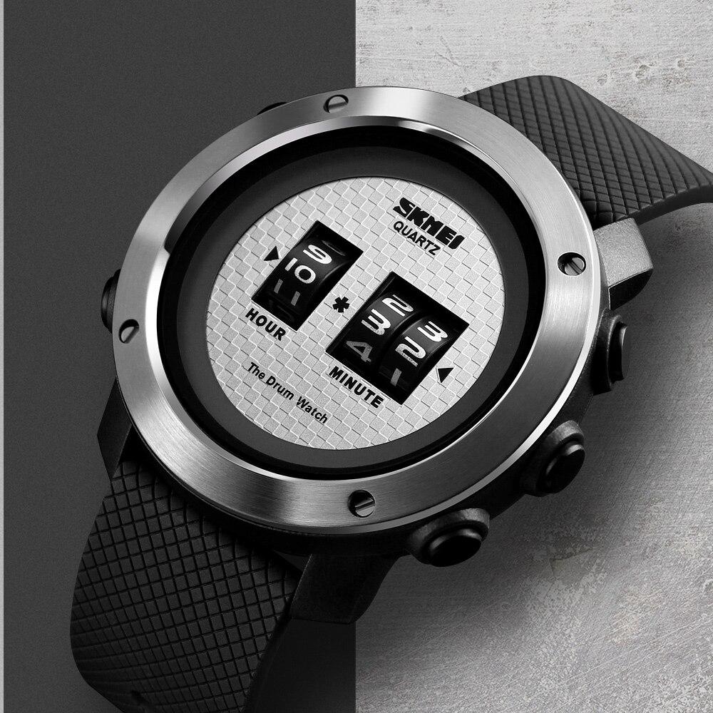 SKMEI Watch Men Outdoor Sport Digital Wristwatch Multi-function 50M Waterproof