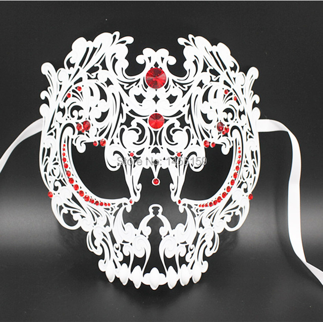 Full Face Metal Laser Cut Mask (Unisex)