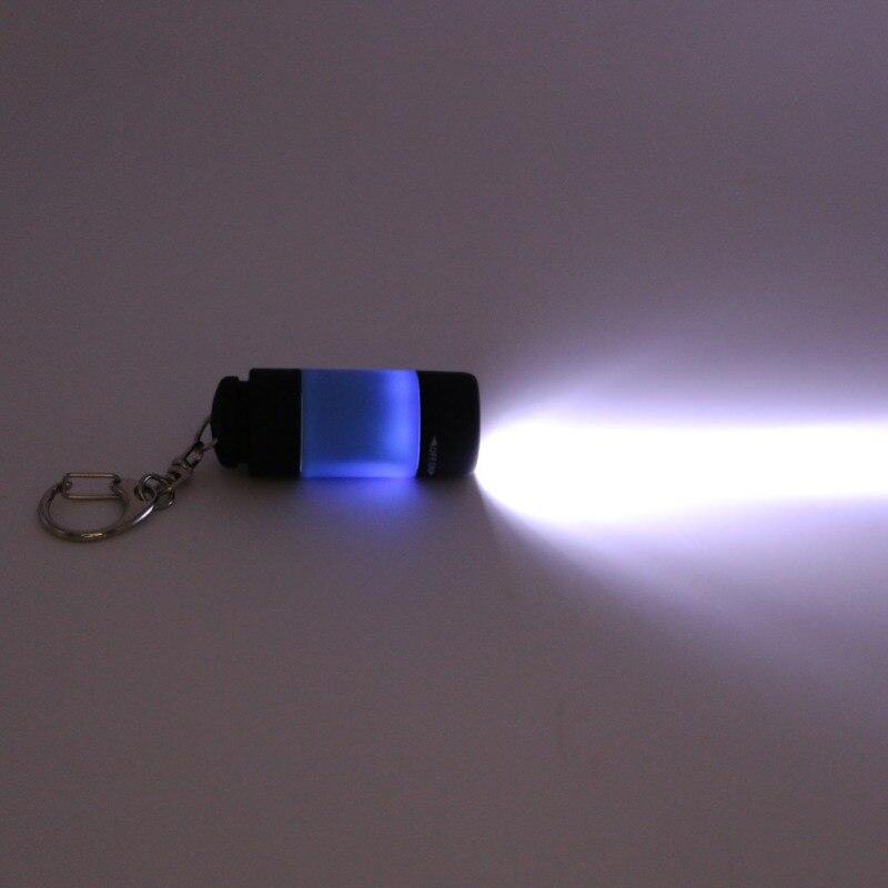 Universal USB Charging Small Torch Lights LED Mini Flashlight Key Chain
