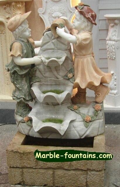 interior pequeo fuentes de agua escultura de piedra a mano estatua de mrmol tallado idea del