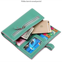 2017 Best Deal Fashion Handbags Lady Women Wallets Bag Popular Purse Long PU Handbags Card Holder