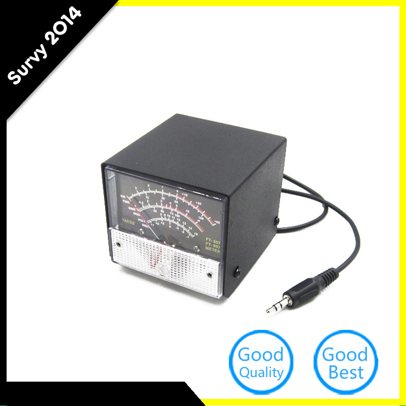 Original External S Meter SWR Power Meter For Yaesu FT-857 FT-897 Practical