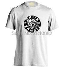 WHITE ZOMBIE Mens & Womens Printing T Shirt