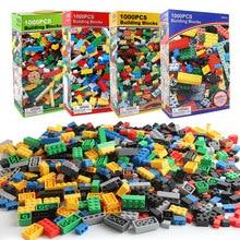 Blocs de construction pour enfants, 1000 pièces, figurines éducatives créatives compatibles avec les marques de briques, jouets pour enfants, cadeau d'anniversaire
