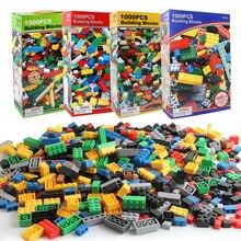 1000PCS DIY Building Blocks figure educativo creativo compatibile con marchi mattoni giocattoli per bambini regalo di compleanno per bambini