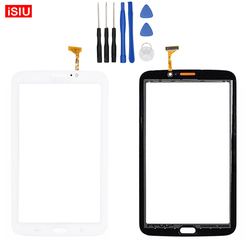 New 7.0 inch For Samsung Tab3 Galaxy Tab 3 T211 / SM-T211 LCD Touch Screen Lens Glass Outer Front Panel + Tools