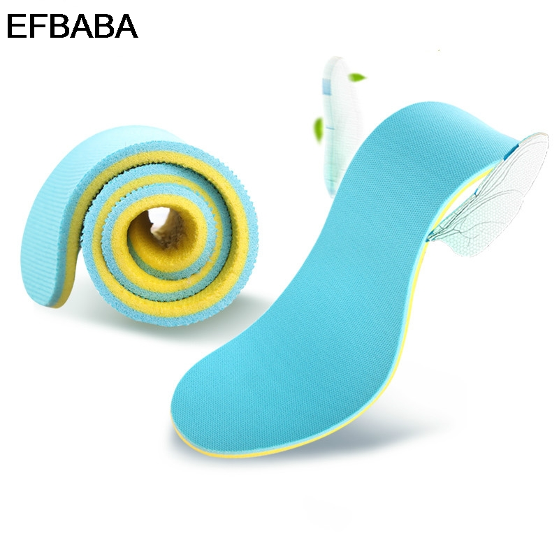 EFBABA Deodorant Running Sports Insoles Sweat Absorbent Breathable Damping Shoe Insole Men Women Shoes Pad Accessoire Chaussure expfoot orthotic arch support shoe pad orthopedic insoles pu insoles for shoes breathable foot pads massage sport insole 045