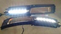 LED DRL дневные ходовые огни передние противотуманные один набор для Audi A6 C6 2009 2011