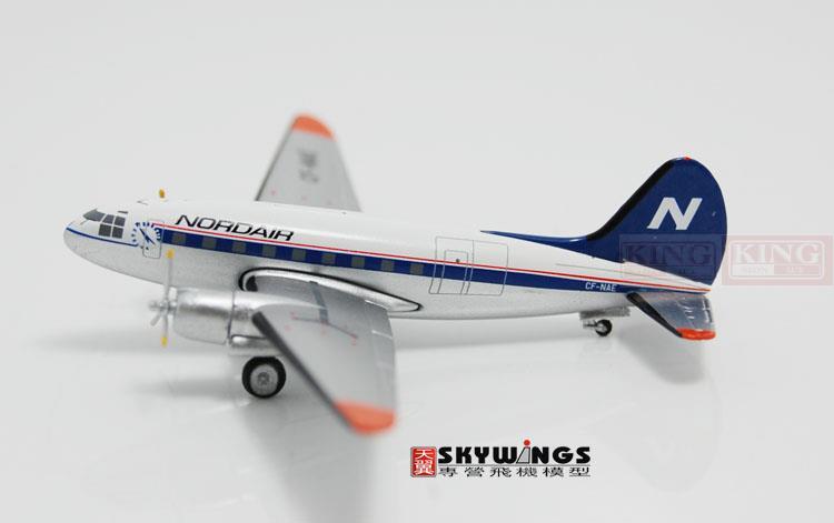 NORD AIR C-46 CF-NAE 1:400 Aeroclassics commercial jetliners plane model hobby