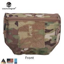Emersongear Armor Carrier Drop Pouch AVS JPC CPC Plate carrier pouch Camouflage MOLLE waist bag Emerson EM9283 Multicam cordura(China)