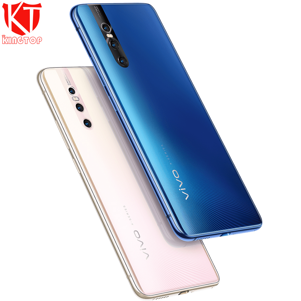"Original vivo X27 Elevating Camera 48.0MP Mobile Phone 8GB 128GB 6.39"" Full Screen Octa core 4G Rear 3 Cameras Cell phone"