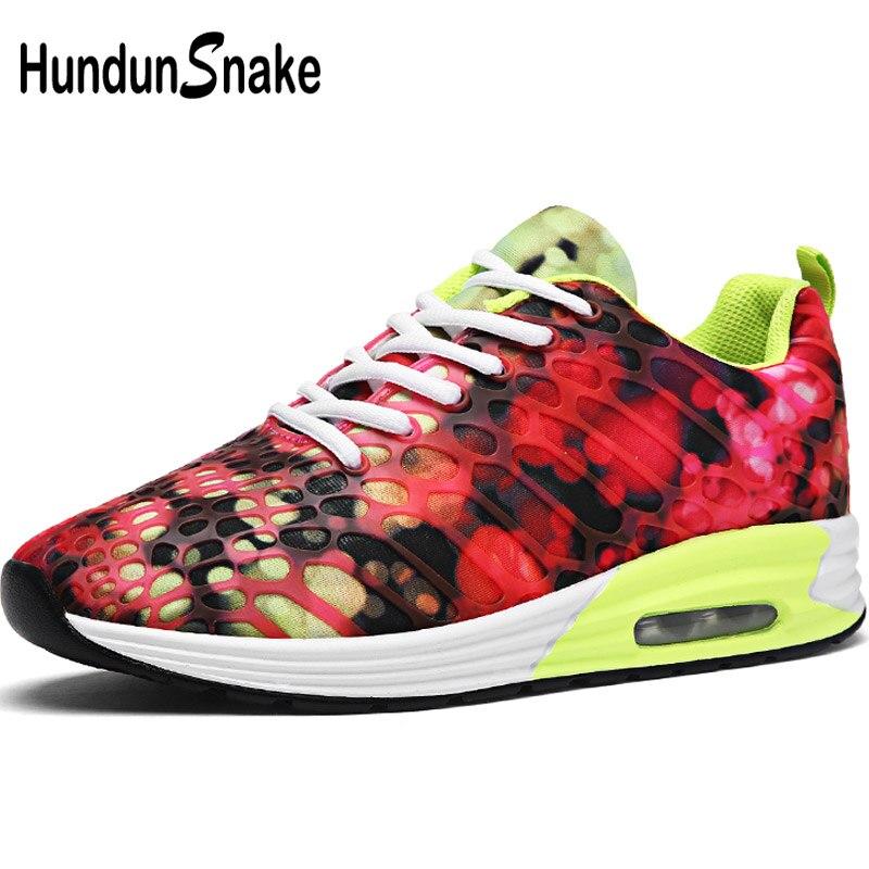 Hundunsnake дышащие кроссовки Для мужчин лето Для мужчин кроссовки спортивная обувь для Для женщин спортивная обувь Для мужчин спортивные Для му...