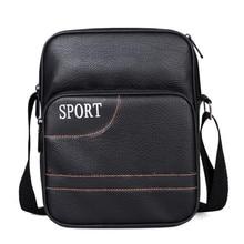 High Quality PU Leather Man Bags Casual Men Messenger Bag Brand Design Travel Crossbody Shoulder Bag For Man  LJ-856 все цены
