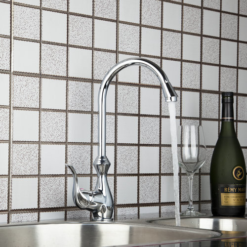Vase Style Slive Polished Chrome Kitchen Torneira Hight Sale Swivel 8498 4 Basin Sink Water Tap