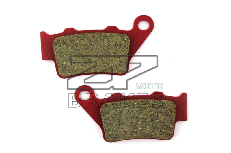 Ceramic Composite brake pads Fit For Rear TM 125/250/300/400 Enduro/Cross 1995-2000 Motorcycle Accessories OEM ceramic composite brake pads fit for rear motocross ktm exc 125 250 1995 2003 200 exc egs 1998 2003 motorcycle accessories