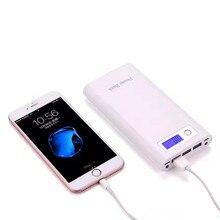 Для iphone 6s android 3usb банк силы 18650 мАч для xiaomi poverbank высокой емкости внешние мобильные батареи банк