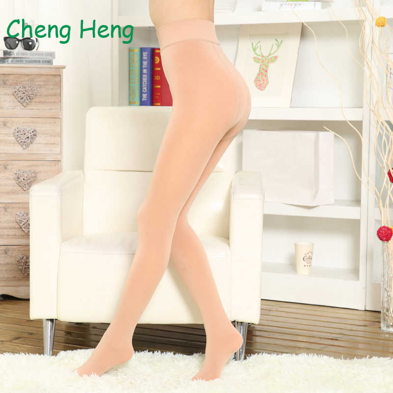 daa16a3a14f Detail Feedback Questions about Female 400D With Velvet Winter Keep Warm  Slim Legs Sexy Pantyhose Anti Hook Large Stocking Hosiery Oil Shiny  Elasticity ...