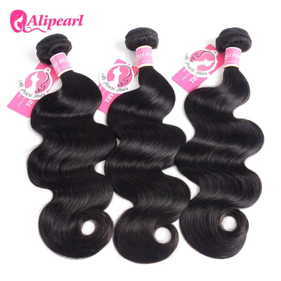 Hair Extensions & Wigs Alipearl Hair Loose Wave Bundles Peruvian Hair Weave Bundles Human Hair Weft 1 And 3 And 4 Bundles 8-26inch Remy Hair Extension Carefully Selected Materials Human Hair Weaves